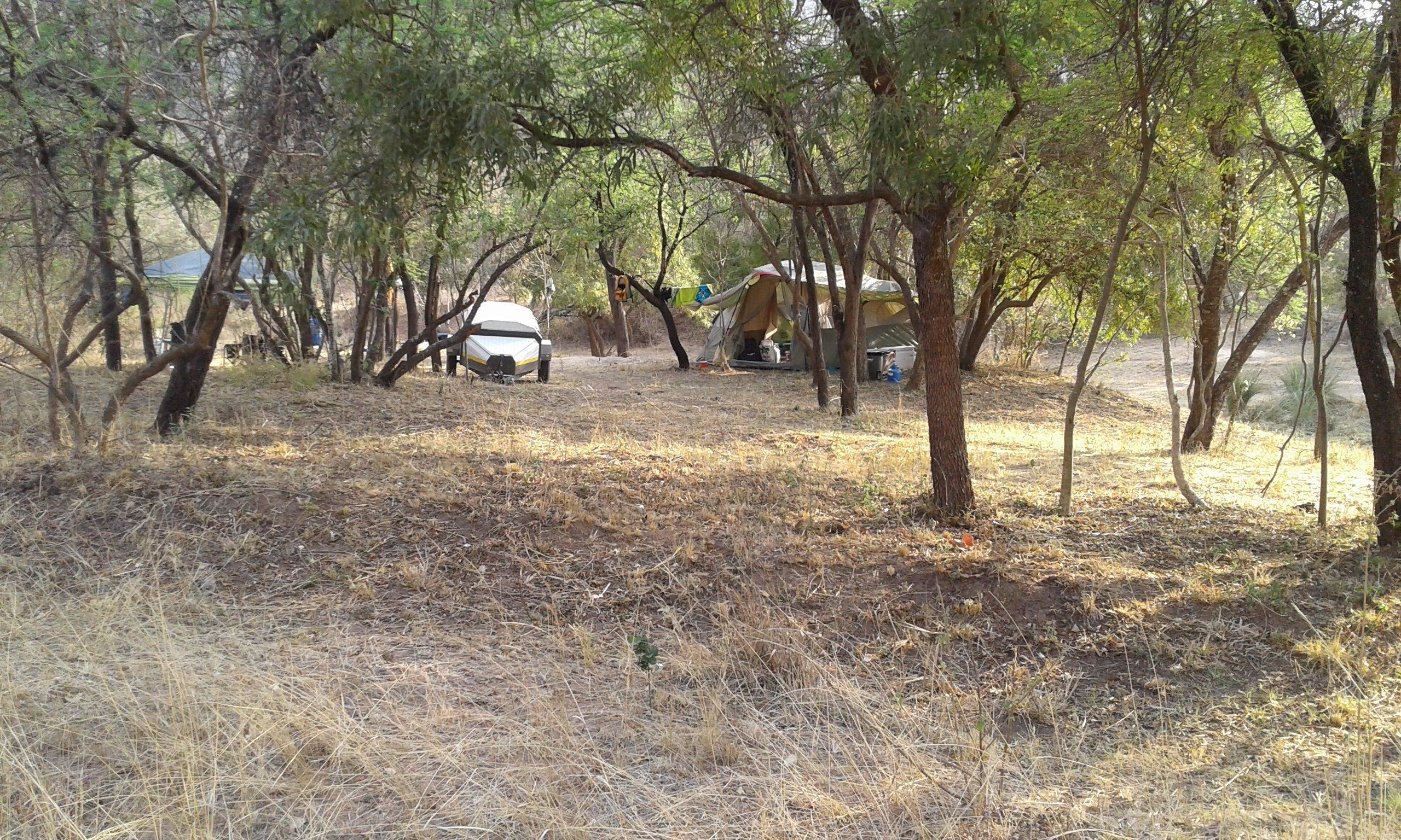 Camping at Thabaphaswa
