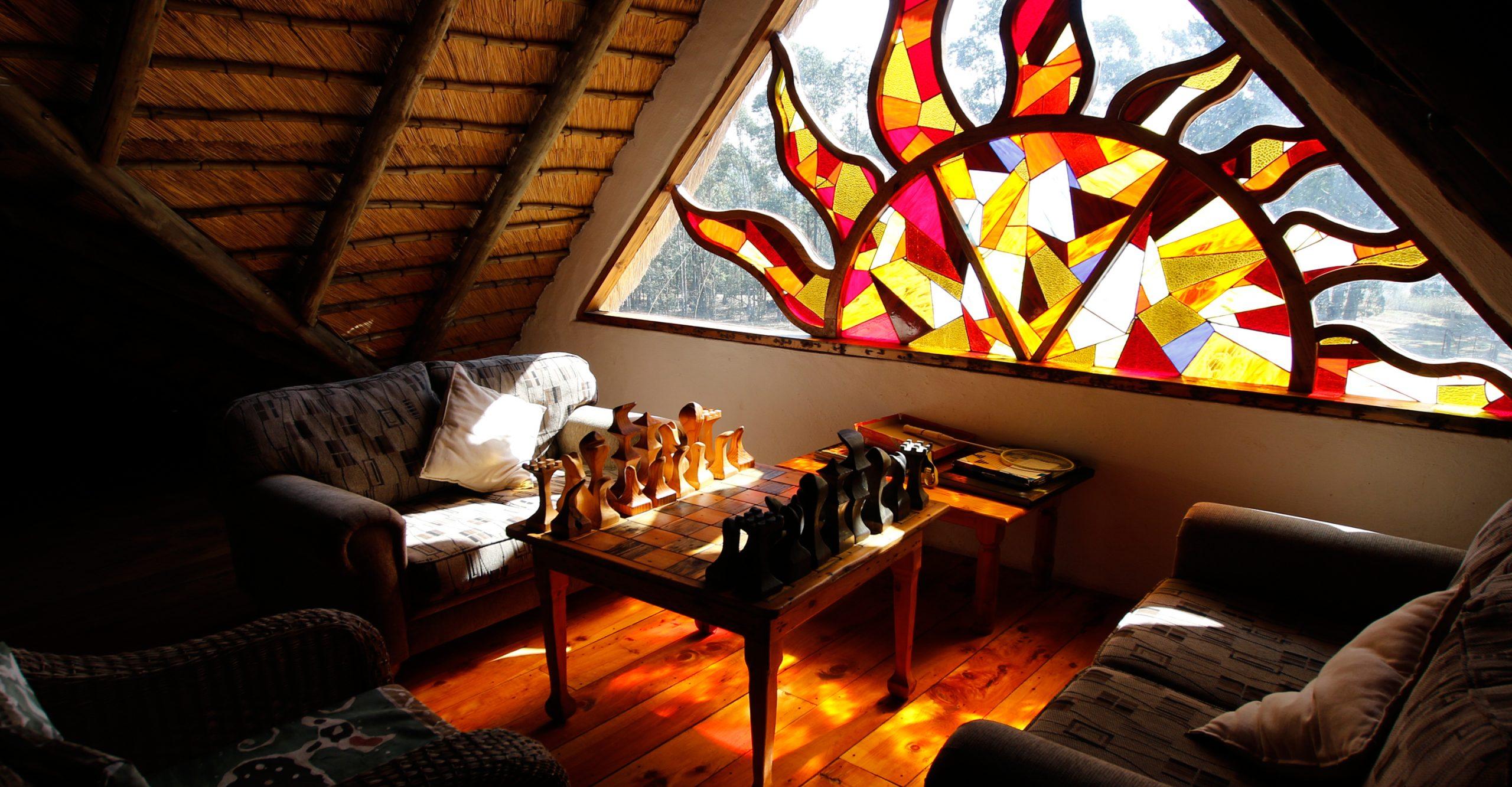 Lodge interior lounge